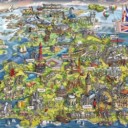 Jigsaw puzzle: Beautiful Britain