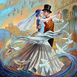 Jigsaw puzzle:  Dance with the Wind II