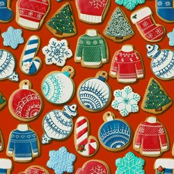 Jigsaw puzzle: Cookies from Santa Claus