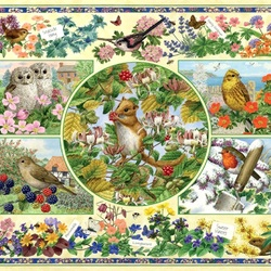 Jigsaw puzzle: The calendar