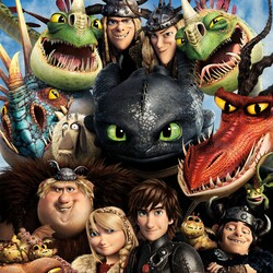 Jigsaw puzzle: How to train your dragon