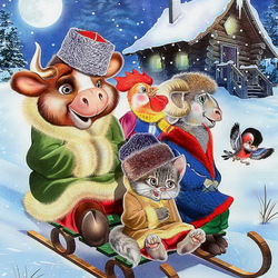 Jigsaw puzzle: Winter fun