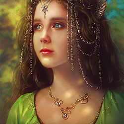 Jigsaw puzzle: Young Arwen