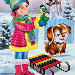 Jigsaw puzzle: Winter Games
