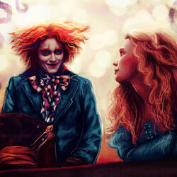 Jigsaw puzzle: Alice and the Hatter