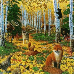 Jigsaw puzzle: Autumn time