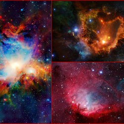 Jigsaw puzzle: Space