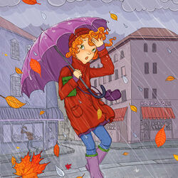 Jigsaw puzzle: Rainy november