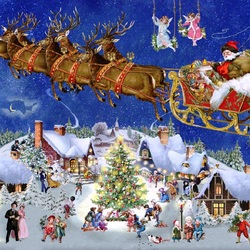Jigsaw puzzle: Christmas is coming
