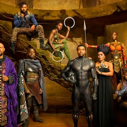 Jigsaw puzzle: Black Panther