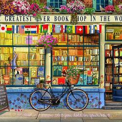 Jigsaw puzzle: Book Shop