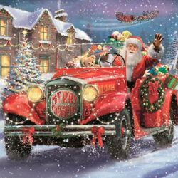 Jigsaw puzzle: Santa is on the way