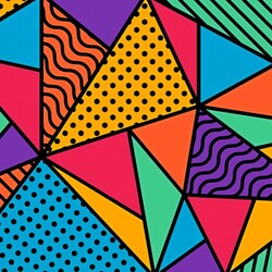 Jigsaw puzzle: Color geometry