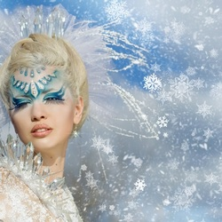Jigsaw puzzle: In the style of the Snow Queen