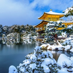 Jigsaw puzzle: Winter in Japan