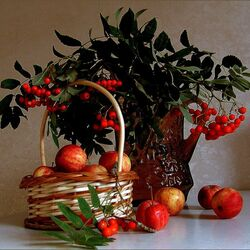 Jigsaw puzzle: Still life with apples