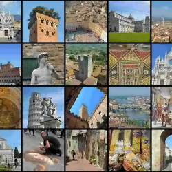 Jigsaw puzzle: Northern Italy cities