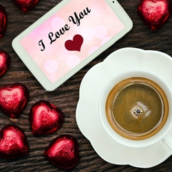 Jigsaw puzzle: Coffee with love