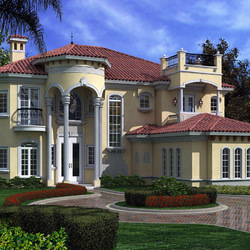 Jigsaw puzzle: House in Florida