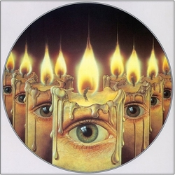 Jigsaw puzzle: Eyes and candles