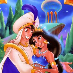 Jigsaw puzzle: In the magic garden of Agrabah
