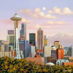 Jigsaw puzzle: Seattle