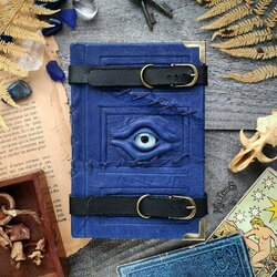 Jigsaw puzzle: Blue Stitched Traveler Magazine
