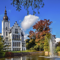 Jigsaw puzzle: Castle in the Netherlands