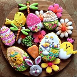 Jigsaw puzzle: Easter sweets