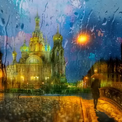 Jigsaw puzzle: Evening rain