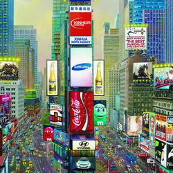 Jigsaw puzzle: Times Square