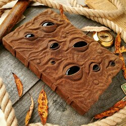 Jigsaw puzzle: Brown slider