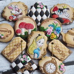 Jigsaw puzzle: Painted gingerbread