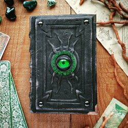 Jigsaw puzzle: The alchemist's little black and green book