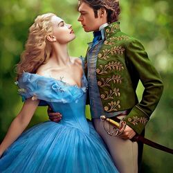 Jigsaw puzzle: Cinderella and prince