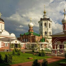 Jigsaw puzzle: Monastery in the Moscow region