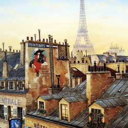 Jigsaw puzzle: Morning Paris