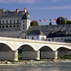 Jigsaw puzzle: Bridge at the castle of Amboise