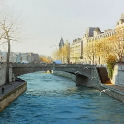 Jigsaw puzzle: Walks in Paris