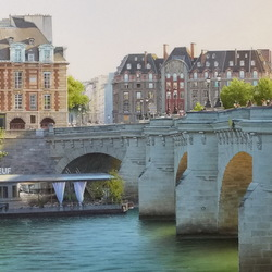 Jigsaw puzzle: Paris in watercolors