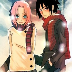 Jigsaw puzzle: Sakura and Sasuke