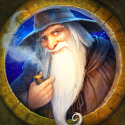 Jigsaw puzzle: Gandalf the Gray