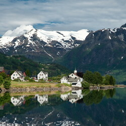 Jigsaw puzzle: Norway