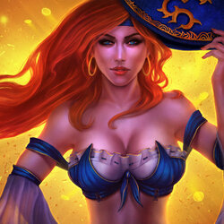 Jigsaw puzzle: Miss Fortune