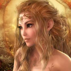Jigsaw puzzle: Elf queen