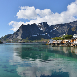 Jigsaw puzzle: Lofoten islands