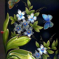 Jigsaw puzzle: Forget-me-not
