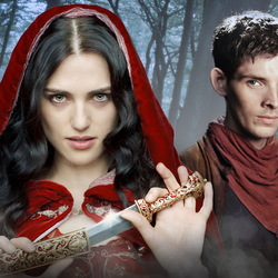 Jigsaw puzzle: Morgana and Merlin