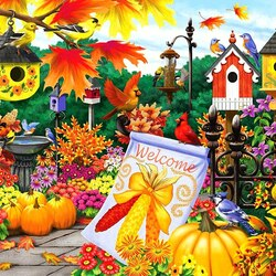 Jigsaw puzzle: Welcome autumn