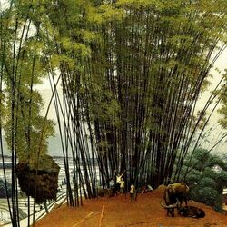 Jigsaw puzzle: By the bamboo grove